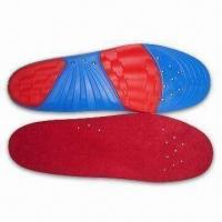 China Massage Insoles, Absorbs Sweat, Deodorizes and Anti-bacterial, with CE Mark wholesale