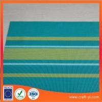 China Color bar Textilene mesh Fabric 2X1 woven strip-type color for leisure chair or beach chair wholesale