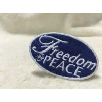 Cool Uniform Label Custom Embroidered Patches Felt Patches For Clothing Flat Surface