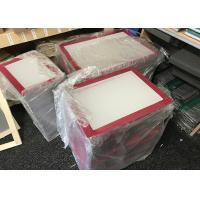 China Custom Screen Printing Frames / Aluminium Silk Screen Frames With Mesh wholesale