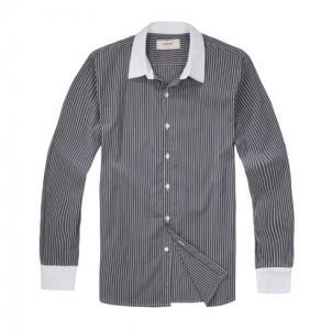 China 100% cotton yarn dyed poplin shirt wholesale