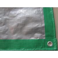 Buy cheap ready made with eyelet and pp rope ,temporary shelter pe tarpaulin sheet from wholesalers