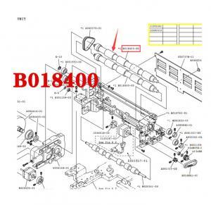 China NORITSU QSS32/37 minilab EXPOSURE ADVANCE ROLLER B018400-00 / B018400 wholesale