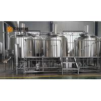 China 1000L commercial micro beer brewing equipment , 10 BBL beer brewery equipment stainless steel material wholesale
