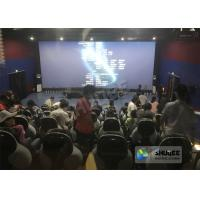Quality 220V 5D Motion Theater System , Luxury Electric 3DOF 5D Seats With Genuine for sale