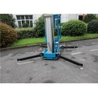 China Mobile Lift Platform With 10 Meter Platform , Aluminum Alloy Hydraulic Aerial Lift wholesale