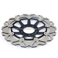 China 300mm Motorcycle Brake Disc Brake Kits SUZUKI Marauder 800 Aluminum Front Black wholesale