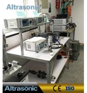 Quality Heat Seal Titanium Ultrasonic Sealing Machine 35Khz 1000W For Cloth Tent Raincoat for sale