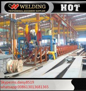 China Professional H / I Beam Flange And Seam Welding Line Automatic Welding Machine wholesale