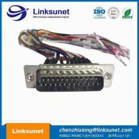 China Soldering TYCO Wiring Harness AMP TE 5 - 747912 - 2 Single Wire BK 250A wholesale