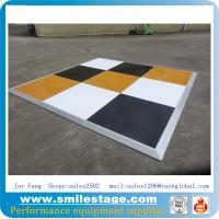 Buy cheap High glossy white dance floors event flooring product