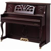 China Brown Polished Antique Acoustic Upright Piano wholesale
