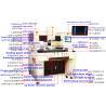 Buy cheap preheating glass with Laser Reballing Kit Machine Infrared Price Bga Rework from wholesalers
