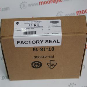China ALLEN BRADLEY 1756-L62 ControlLogix 4 MB Memory Controller wholesale