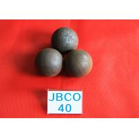 Quality Wear-resistant Grinding Media Steel Balls B2 D40mm Steel Ball for Copper Mine Dressing Plant for sale