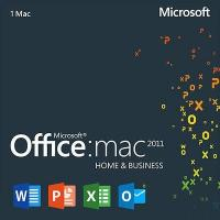 China Microsoft Software MAC Office 2011 Home And Business Edition Support All Language wholesale