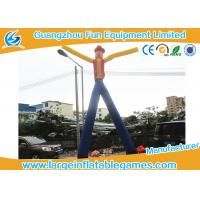 China Double Legs Inflatable Advertising Products Inflatable Dancing Man Cow Boy For Commodity Promotion on sale