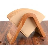 China Eco Friendly Bamboo Display Unit Bamboo Coffee Filter Holder Paper Storage Rack on sale