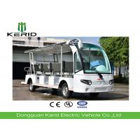 China 14 Seater Electric Sightseeing Bus With Curtis Controller / MP3 Player / Speaker on sale