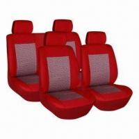 China Car Seat Cover with Latest Jacquard Design on sale