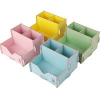 China Factory wholesale creative solid wood pen container, pencil vase pen holder on sale