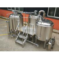 China 7 BBL Beer Making Equipment , Complete Microbrewery System Glycol Cooling System wholesale