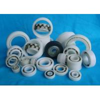 POM / PA66 High Precision Plastic Plain Bearings With Glass Stainless Balls