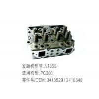 China NT855 Diesel Engine Cylinder Head 3418529 / 3418648 For Excavator PC300 wholesale