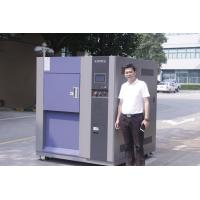 China Single Door Stainless Steel Plate 3-Zone Thermal Shock Chamber , Environmental Test Chamber wholesale
