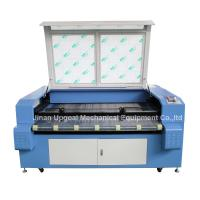 China Car Block Set Co2 Laser Cutting Machine with Auto Feeding System/Double Heads wholesale