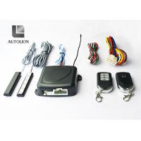 China Black Car Alarm Systems With Remote Start And Keyless Entry , Stop Car Engine Function wholesale