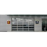China Aluminum Glass Garage Door with  alloy frame and double hollow transparent glass wholesale