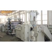 China High Capacity PE / PVC Extruder Machine , Multifunctional PET Sheet Extrusion Machine on sale