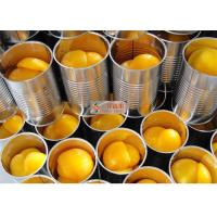 China Organic no sugar added tasty sweet and sour canned sliced yellow peaches wholesale