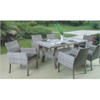 China Outdoor furniture wicker dinning table--2002 wholesale