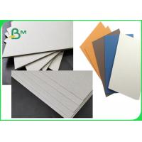 China FSC SGS Approved Colorful Laminated Grey Board Grade AAA / AA With 1MM 1.28MM 2MM 3.2MM wholesale
