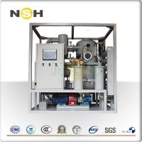 China Mobile Transformer Insulation Oil Purifier , Oil Filtering Equipment Single Axle 3000LPH on sale