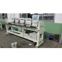 Computerized 4 Head Embroidery Machine , Hat Embroidery Machine Max Speed 850 RPM