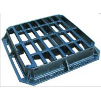 China 3-Sided flange Hinged ductile iron mesh gully grating and frame 450 x 450mm For Sale on sale
