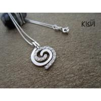 China Fashion Design925 Sterling Silver Gemstone Pendant with Zircon at Lower Price W-VB944 wholesale
