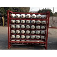 China Custom 200 Bar / 250 Bar Ground CNG Storage Tanks / Cascade Tank For Gas Filling Stations wholesale