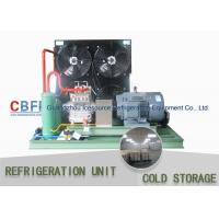 China Seafood Cooling Cold Room And Freezer Room , BITZER Compressor Cold Storage Room wholesale