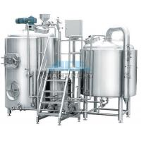 China 10bbl Jinan Micro Beer Brewing Equipment For Wholesale Price Standard And Customized Tanks Craft Brewery Equipment 500l wholesale