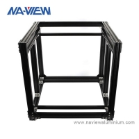Buy cheap Extruded 3D Printer Aluminum Extrusion Profile Filament Frame Kit from wholesalers