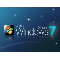 OEM Software Windows 7 COA Sticker Windows 7 Full Version With Activation Key