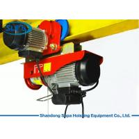 China PA Electric Cable Hoist 110V , Electric Crane Hoist Wireless Remote Control wholesale