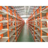 Buy cheap Medium Duty Long Span Storage Shelving racking with Step Beam from wholesalers