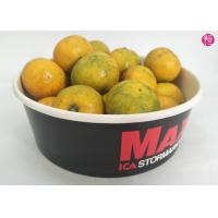 China 100 CTNs 38oz Paper Paper Salad Bowls with Clear Lid Custom Printed Design wholesale