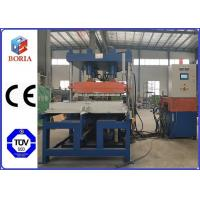 Buy cheap Column Type Structure Rubber Tile Machine Steam Heating PLC Automatic Control from wholesalers