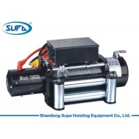 China 4x4 Off Road Truck Electric Winch Hoist 10000lbs Capacity With Wireless Control wholesale